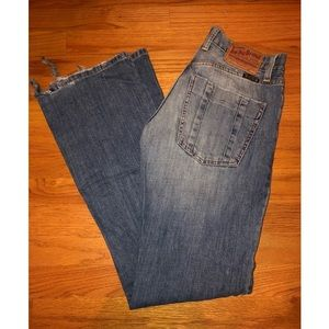 "Men's Lucky Brand ""Slim Bootleg Regular Length"""